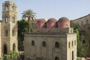 Domes and church, Palermo